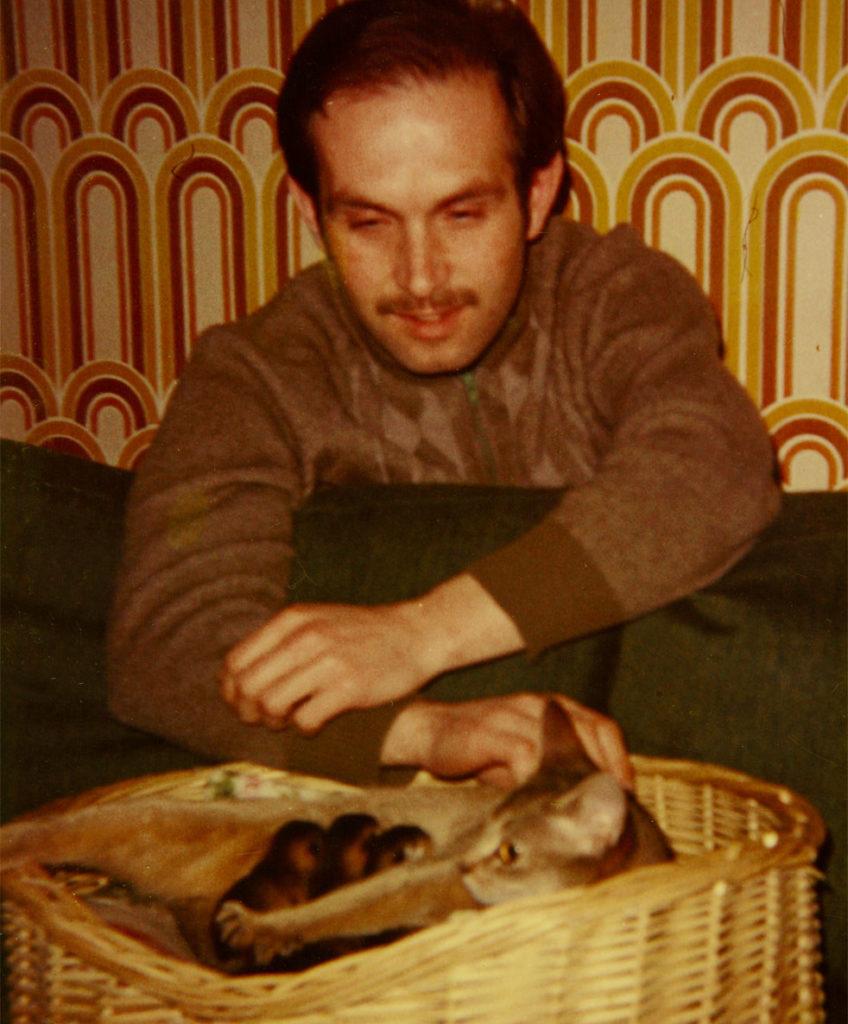 Vincent Kaiser Abessinier Zucht mit 14.2.1976; Wodan's- Angelina; 23 ruddy